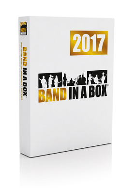 Band-in-a-Box<sup>&reg;</sup> 2017 for Windows