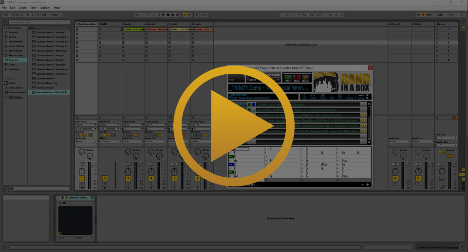 Band-in-a-Box Plugin in Ableton