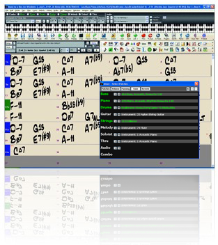 Band-in-a-Box Screenshot