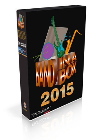 Band-in-a-Box<sup>&reg;</sup> 2015