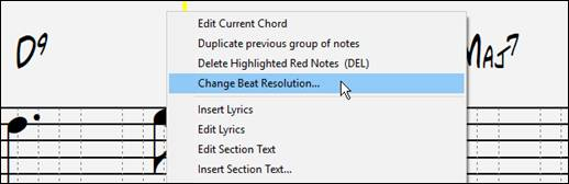 Band-in-a-Box 2019 New Feature - Notation Enhancements