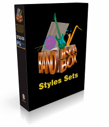 PG Music - Band-in-a-Box for Windows - MIDI Style Set 0: Built-in Styles