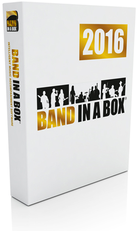 Band-in-a-Box 2016