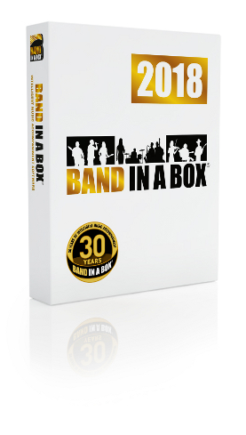 Band-in-a-Box<sup>&reg;</sup> 20178for Windows