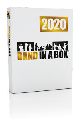 Band-in-a-Box<sup>®</sup> 2020