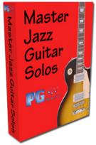 Master Jazz Guitar Solos<br> Volume 1 - 4