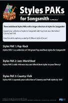 Styles PAKs Songsmith