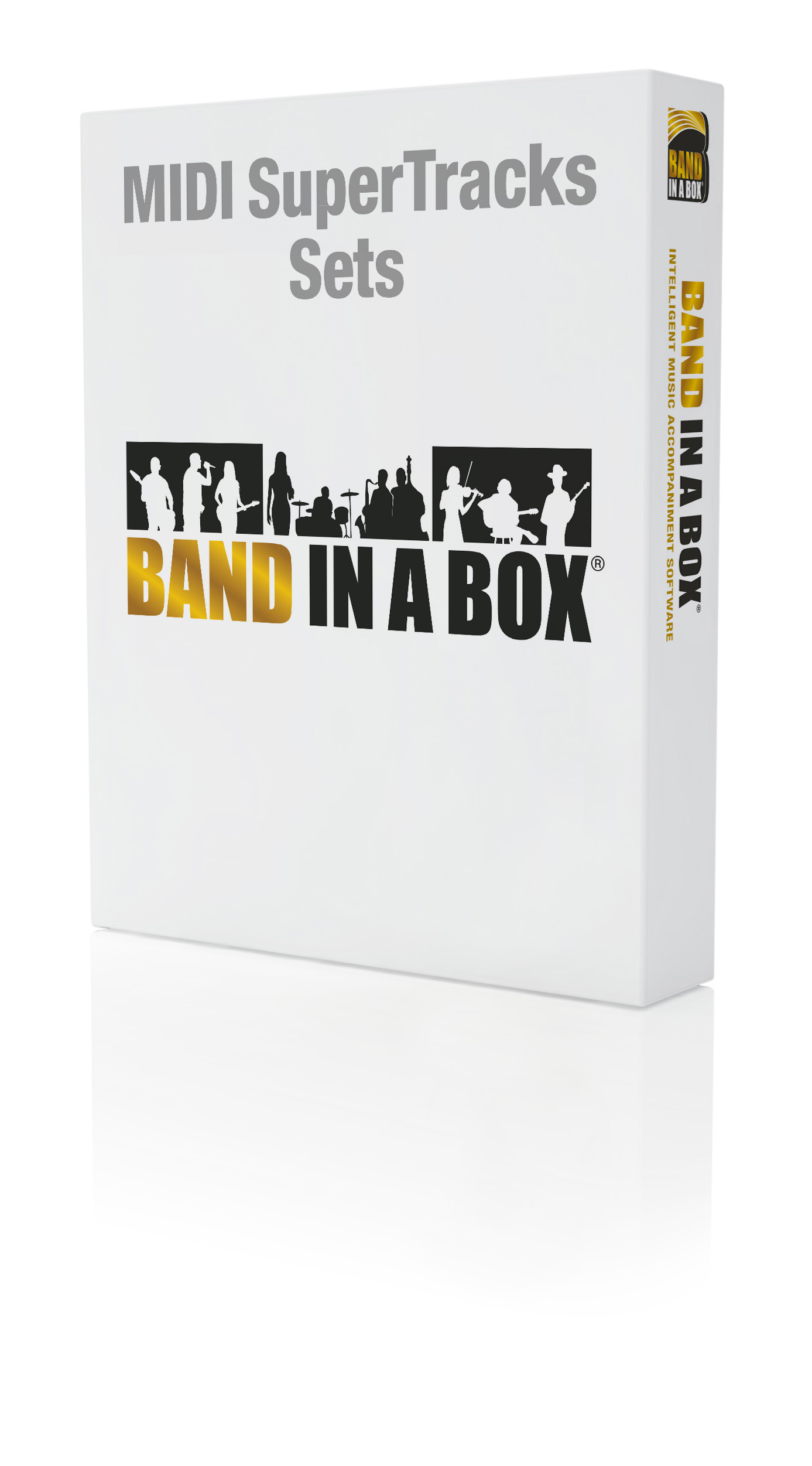 PG Music - Band-in-a-Box for Windows - MIDI SuperTracks Sets