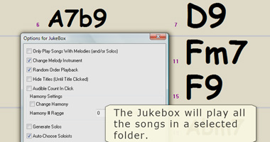 Jukebox plays all songs in a selected folder.