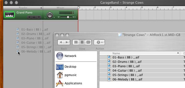 GarageBand tutorial screenshot 6b