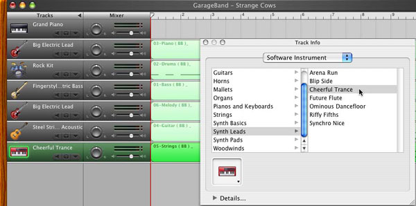 GarageBand tutorial screenshot 7