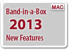 Band-in-a-Box 2013 New Features