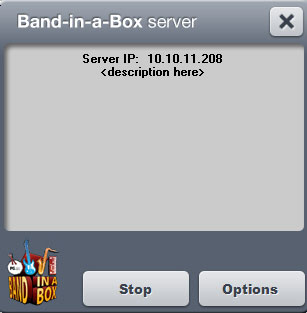 Band-in-a-Box Server