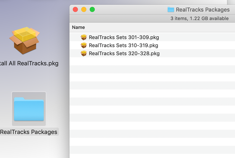 RealTracks Packages