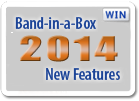 Band-in-a-Box 2014 New Features