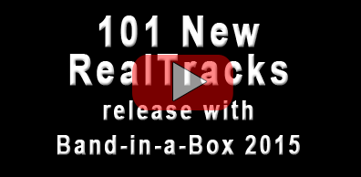 Band-in-a-Box<sup>&reg;</sup> 2015 New RealTracks