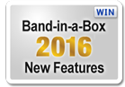 Band-in-a-Box 2016 New Features