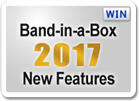 Band-in-a-Box 2017 New Features