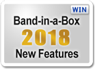 Band-in-a-Box 2018 New Features