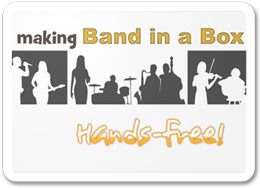 Play Video - Band-in-a-Box Hands Free with Naturally Speaking