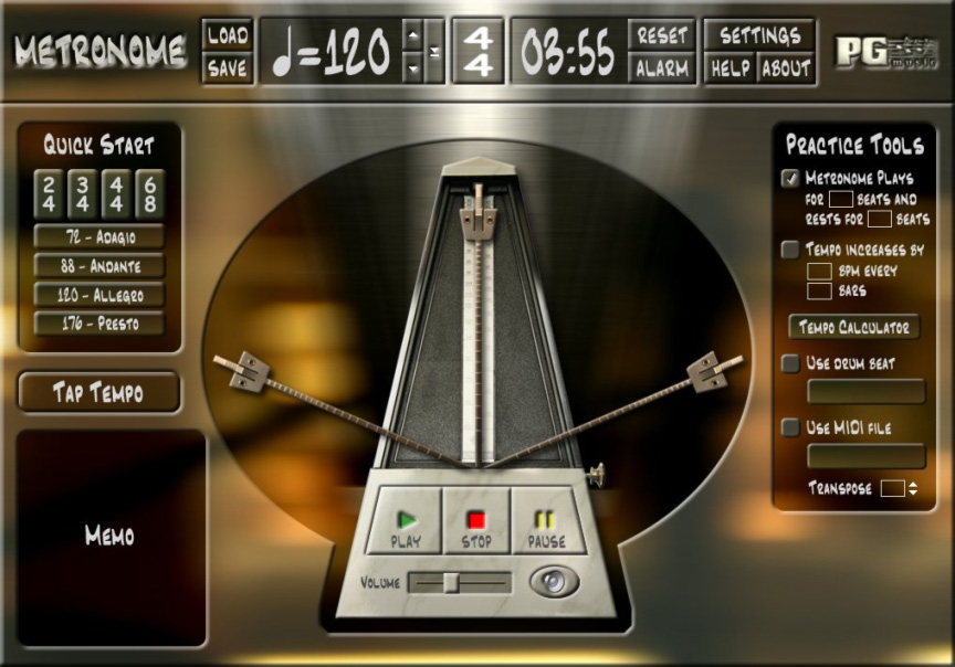 Online metronome click track - Bar du coin st-jerome quote