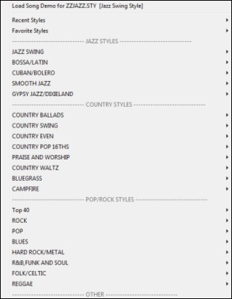 PG Music - Online Manuals - Band-in-a-Box 2019 for Windows